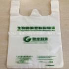 Biodegradable plastic shopping bag