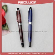 2014 metal twist ball pen golden part with logo imprint ball pen for office best ballpoint pen
