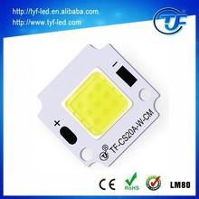 Customize cob led chip high quality 12v dc 20 watt led cob