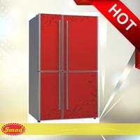 Defrost side by side four door refrigerator BCD-358GR