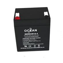 msds maitenance free SLA 6v 4ah solar battery NP4-6 sealed rechargeable 6v lead acid battery 6v 4ah