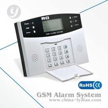 LCD Security Wireless GSM Autodial Home Office Burglar Intruder Alarm System Set