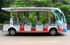 Classic Car/Electric Golf Cart,14 seats electric sightseeing vehicle for sale