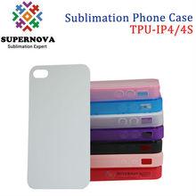 Custom Printed TPU Soft Case for iphone 4s