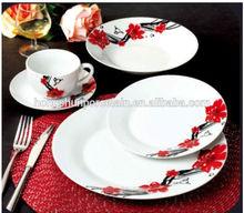 20/30pcs easter dinnerware set / dinnerware sets purple