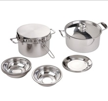 fashion hot-sale kitchen utensil stainless steel cookware set