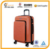 2014 Newest PC and ABS trolley case with Front Packet