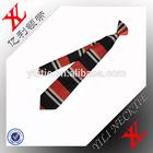 100% woven silk clip ties for schools or groups,custom made silk ties