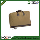 2014 hot sale high quality 20oz canvas mens suit cover bag with pocket