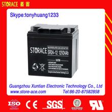 ups battery 12v 24ah AGM lead acid battery (SR24-12)