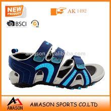 Fashion men's brand wholesale sandal shoes nubuck materials to make sandals