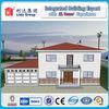 New design economical 237.5 m2 resident steel structural villa