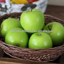 Manufacturers selling artificial fruit/false fruit model artificial blue/green apple festival promotion gift decoration