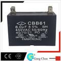 cbb61 8uf 450v condensador
