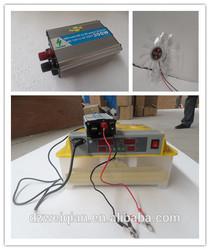 Mini incubator double power supply 220V&12V wq-48 eggs automatic egg incubator