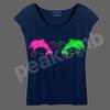 2014 New Design Garment Heat Transfer Vinyl Dolphins