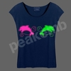 2014 New Design Garment Heat Transfer Vinyl Dolphins