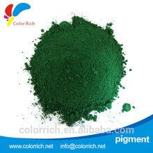 Pigment Green 7 chemical pigment coating enamel frit