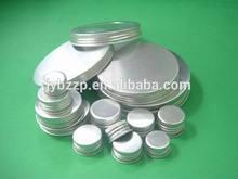 Guangzhou manufactured silver/red/black/gold aluminum screw cap