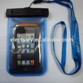 sıcak satış yeni ürünleri yumuşak pvc su geçirmez çanta cep telefonu su geçirmez çanta