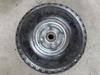 260x85 Wheelbarrow small rubber wheels 3.00-4