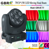 Promotion Price 7PCS 4 in 1 15W LED Moving head Beam light