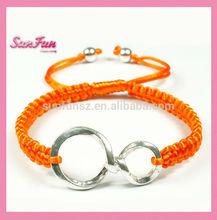 2014 Fashion Infinity Leather Bracelet Leather A002048