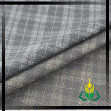 tweed check jacket color gradient yarn dyed fabric school check material