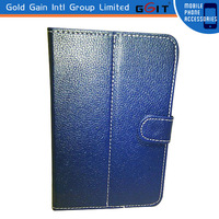 Wholesale tablet accessories universal tpu pc leather case for 7 inch tablet pc