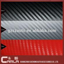 """PVC CF-3160""""X100' black color 3M 3d carbon vinyl for cars 3M sticker"""