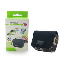 Easy Cover Shockproof Camera Case/NEOpine Camouflage and Maple Leaf Neoprene Camera Bag DSLR For Compact Camera - MLB-2