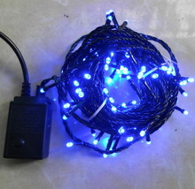 Holiday Decoration christmas led string lights|| Blue Color Flashing Christmas LED Lights