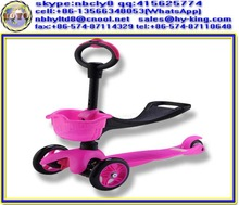 3 in 1 o-bar mini kick scooter with seat , mini kick scooter , three wheel kick scooter
