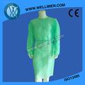 Não- tecido estéril paciente cirúrgica descartável vestido/roupa/vestido do hospital
