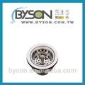 Pb72243-1 de acero inoxidable fregadero de la cocina colador el suministro de piezas y accesorios de artículos de cocina accesorio de desagüe del fregadero colador canasta