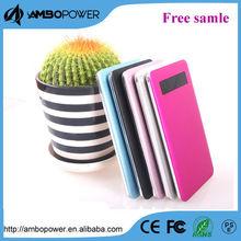 slim power bank/touch screen powerbank