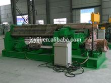 Jiangsu Yiji mechanical 3-roller symmetrical plate rolling machine W11-12*2000