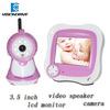 "2.4"" Wireless Digital Color wireless baby monitor LCD Screen Kit Talk Camera IR Video"