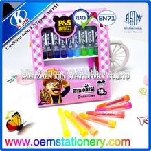 18 pcs water-soluble color pencil/watercolor pencils for children