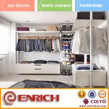 Enrich Trade Assurance cheap bedroom furnitur simple aluminum closet
