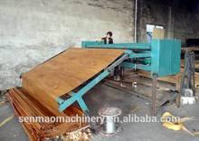 wood veneer cutting machine/veneer clipper