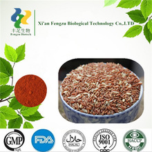 Best quality red yeast rice extract powder 1%--2%