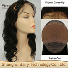 100% Indian Virgin Remy Hair Lace Front Wigs Body Wave Can Be Dyed And Bleached To Light Color Swiss Llace Wig With Baby Hair