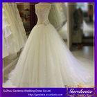 Luxury diamond Korean Princess Bandage Bridal Gown Vestido Wedding Dresses Real Photos