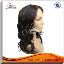 2014 new products 100% virgin brazilian hair human short brazilian hair full lace wig