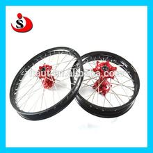 """CR CRF 250&450 Road Bike / Racing Motorcycle 17"""" 18"""" 19"""" 21"""" Wheels Assy"""