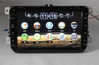 VW Series Car Multimedia player with Multilingual menu