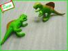 plastic natural world animals soft rubber dinosaur toy