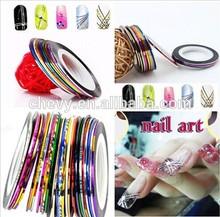 Nail Art Lace Tape Line DIY Strips False Nails Decoration Stickers