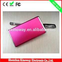 Real Capacity Portable Cheap Mobile Power Bank Supply 2600mAh Universal Style